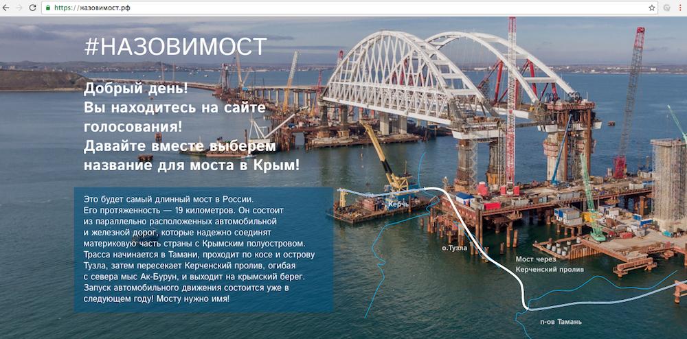 Голосование открыто на сайте назовимост.рф