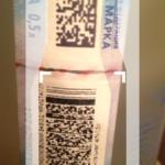 Сканируем акцизную марку