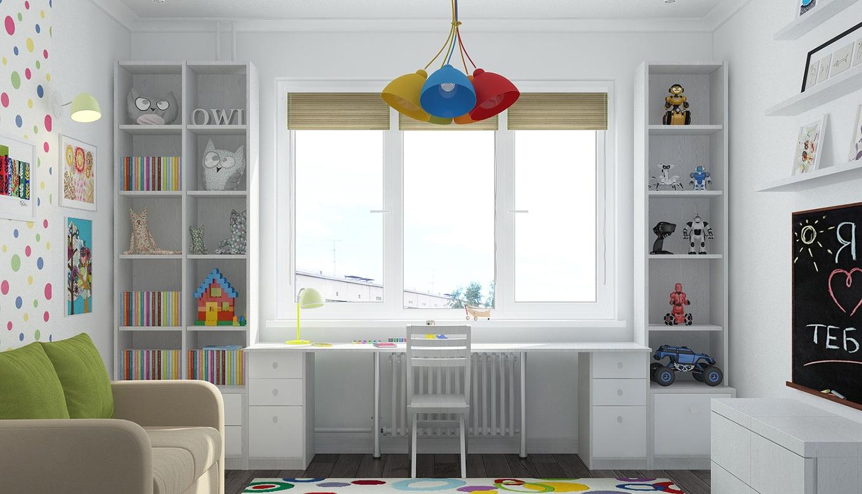 rabochaya-zona-vozle-okna-v-detskoy-komnate
