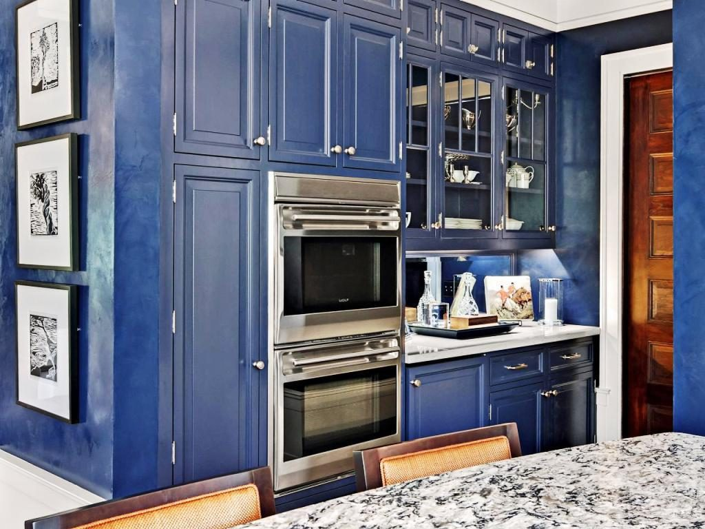 Dark-Blue-Kitchen-Cabinets-Pictures-1024x768