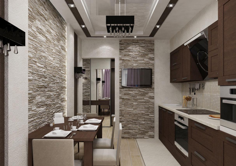 Кухня-в-коридоре