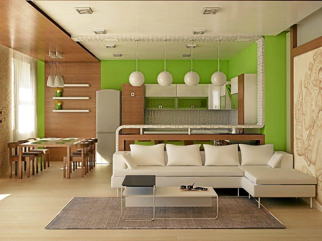 кухонная зона в квартире-студии_1