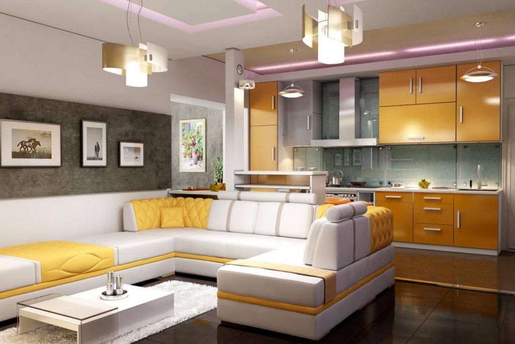 кухонная зона в квартире-студии_4