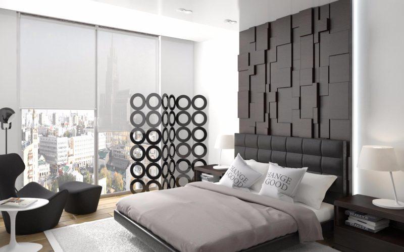 спальня в современном стиле_3