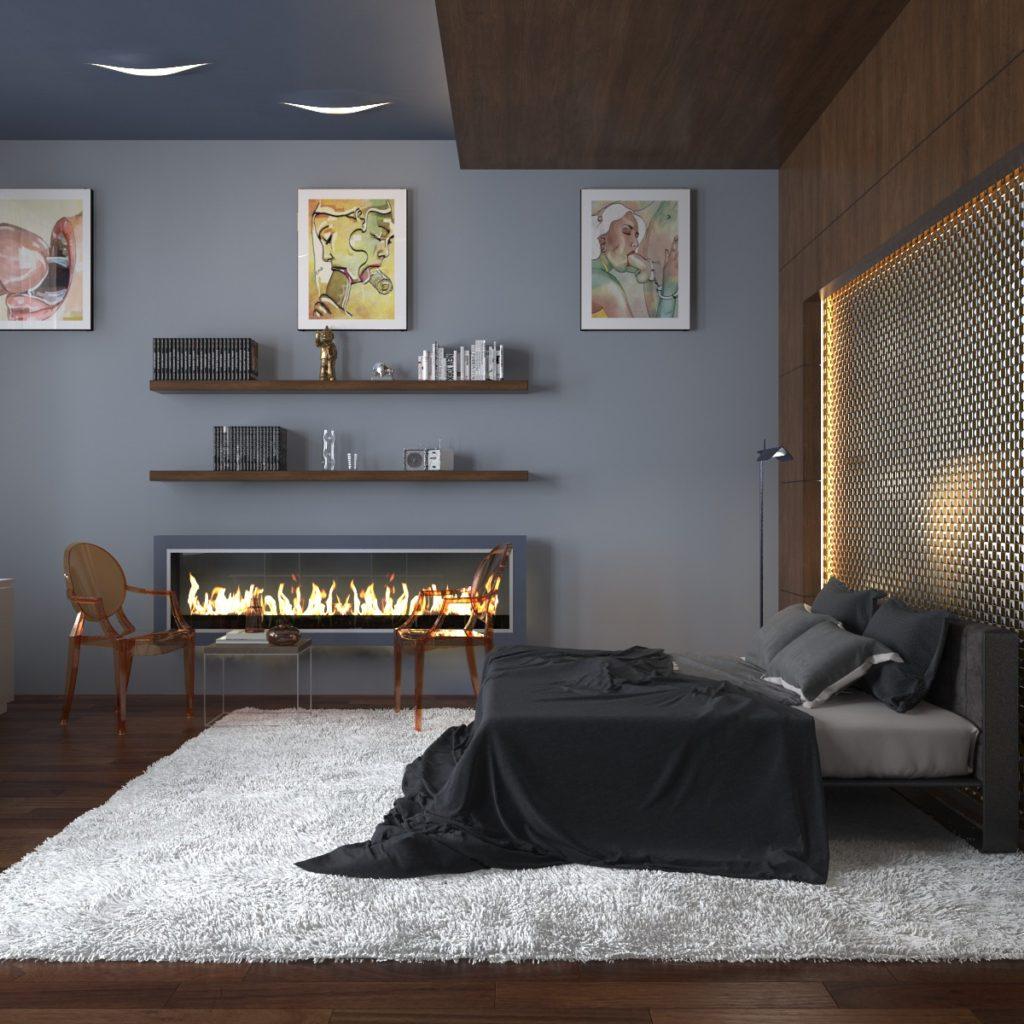 спальня в современном стиле_4